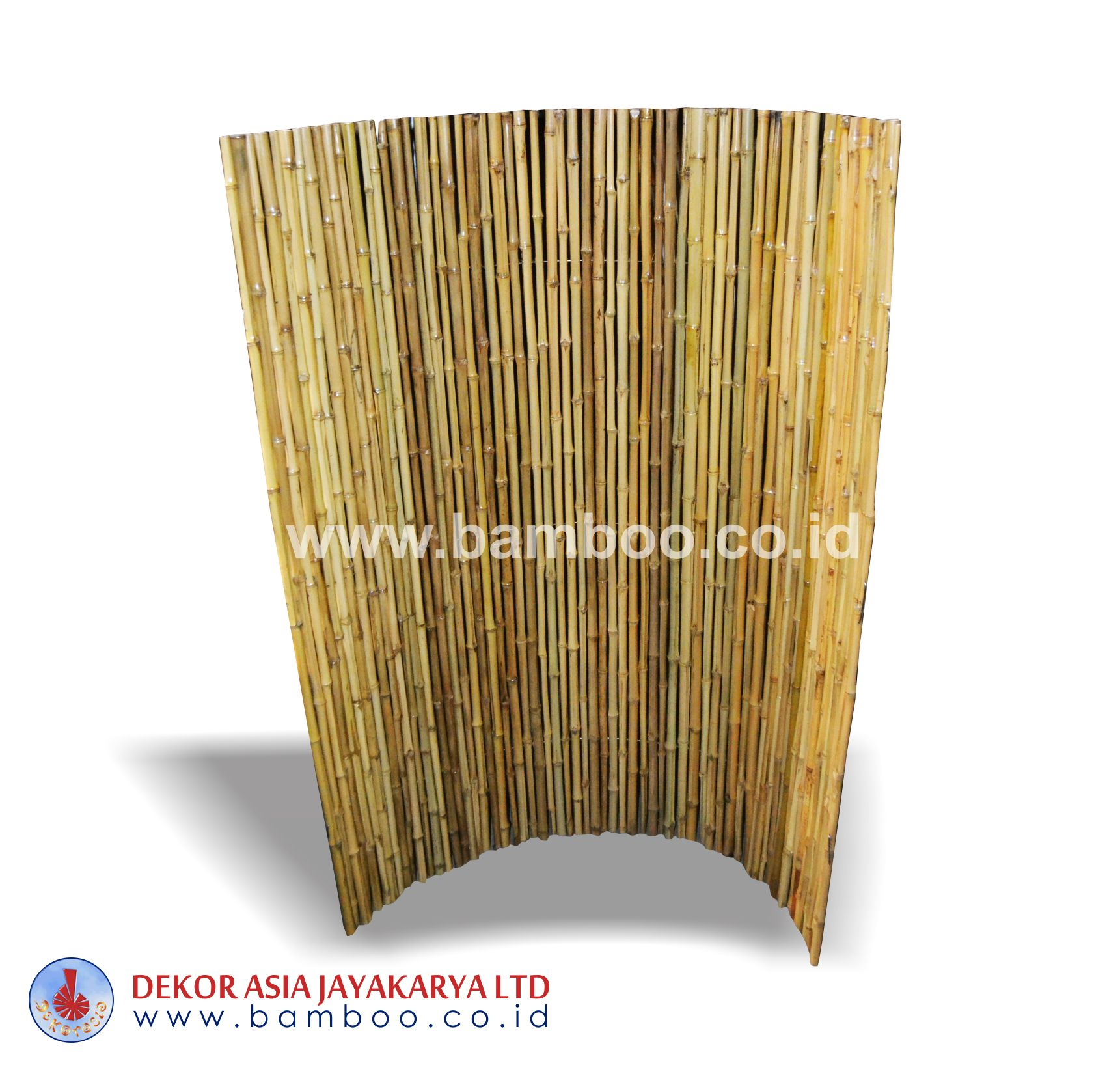 Full Round Roll Of Bamboo Cendani