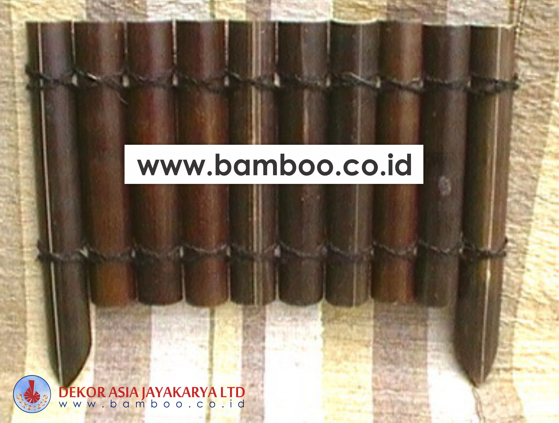 Black Bamboo Edging